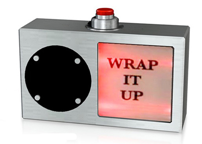 wrap it up button